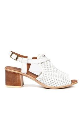 Hammer Jack Beyaz Kadın Terlik / Sandalet 157 817-z