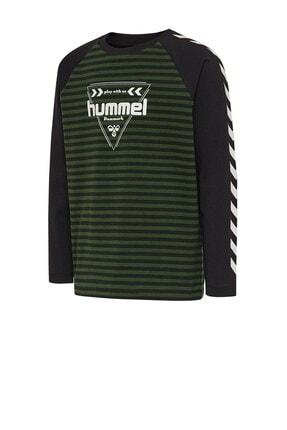 HUMMEL Unisex Çocuk Yeşil Kenji Tiş Sweatshirt 207793-6717