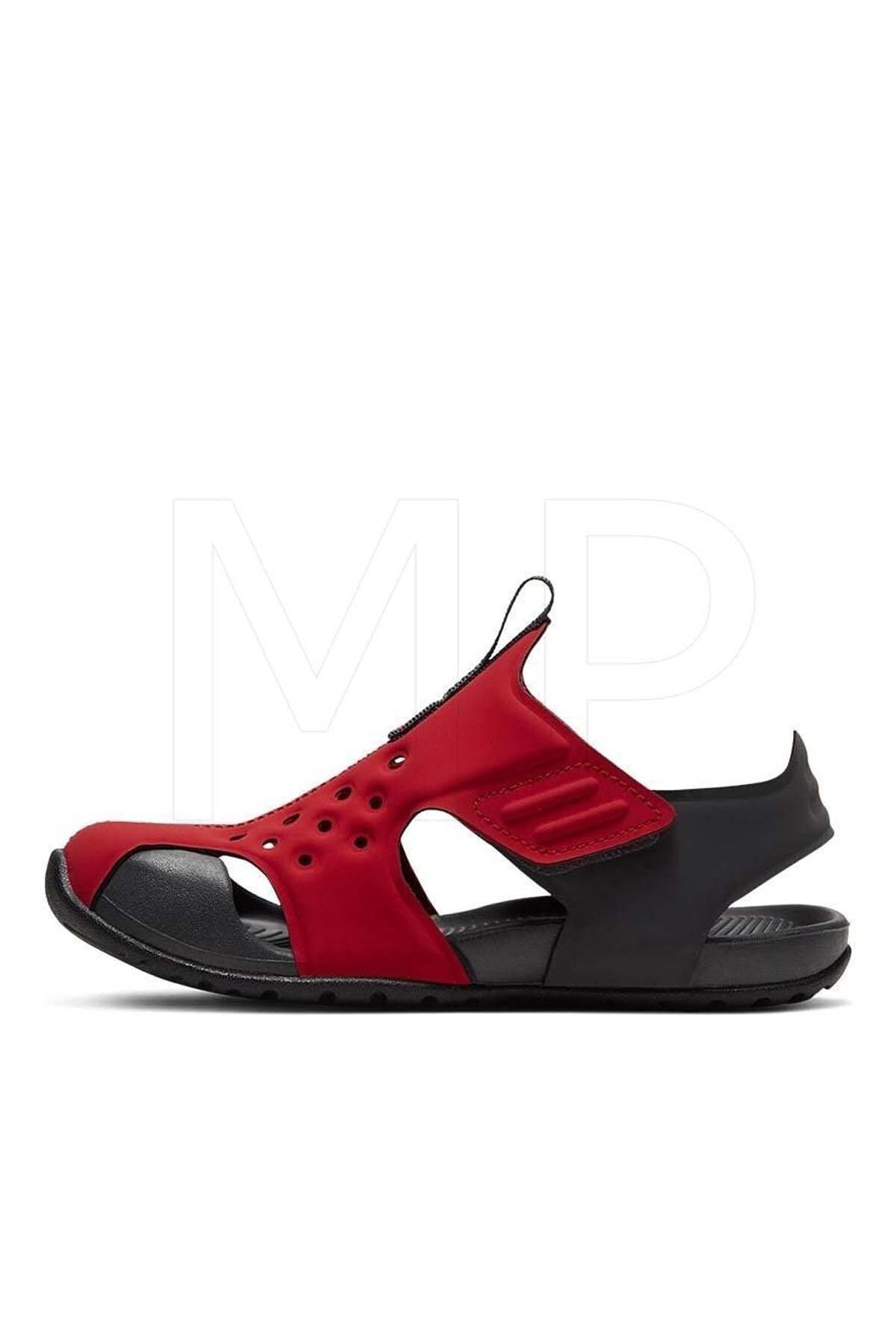 Nike Unisex Çocuk Kırmızı Sandalet Ayakkabı 943826-603 Sunray Protect 2 ps 2