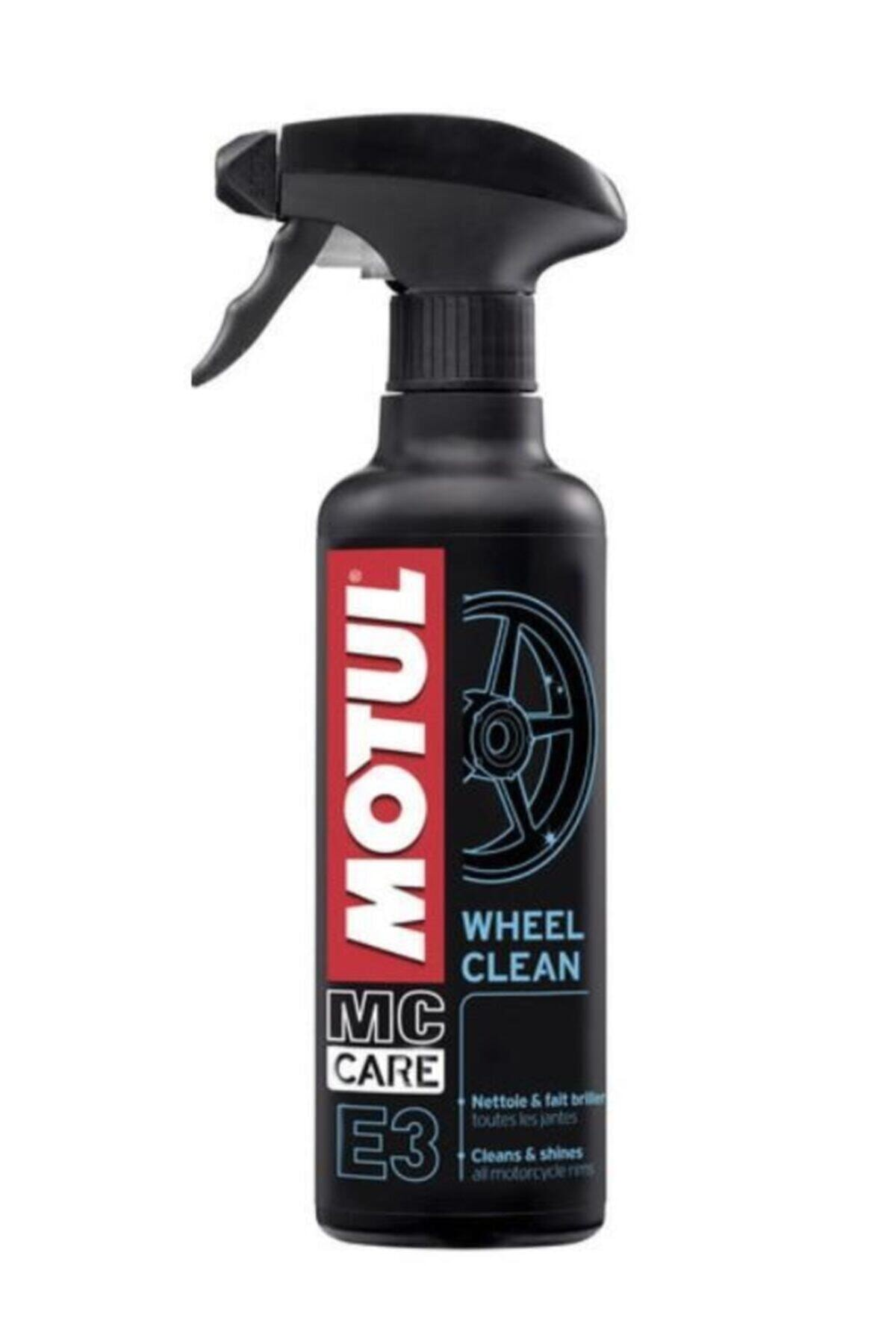 Motul E3 Wheel Clean 400 Ml Jant Temizleyici 1