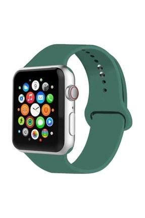 Telehome Apple Watch Kordon 2 3 4 5 Seri 42 Mm Ve 44 Mm Silikon Kordon Kayış