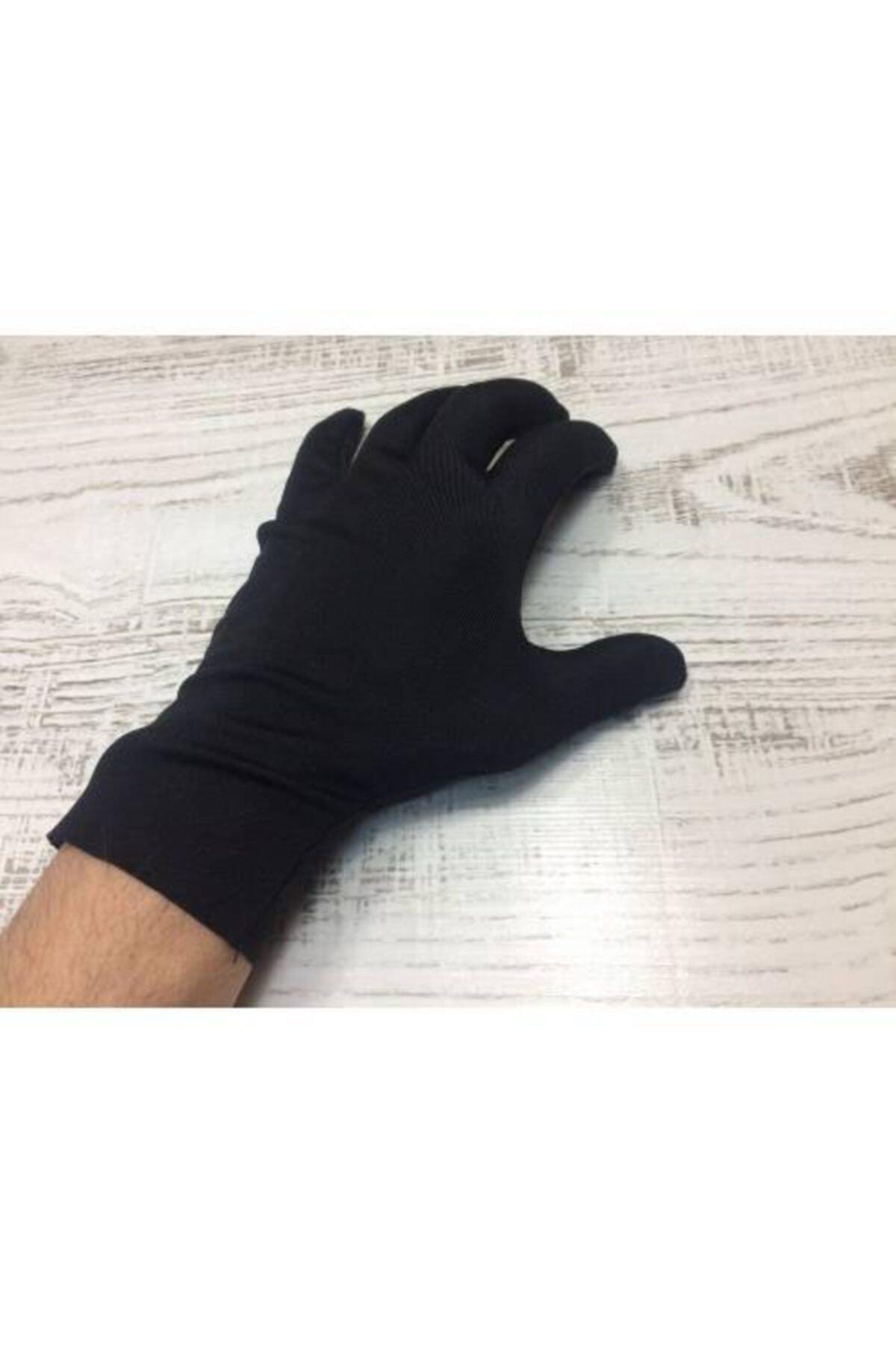 PR Yıkanabilir Eldiven Siyah Dalgıç Kumaş Eldiven ( Sadece Bayanlar Için S Beden ) 2
