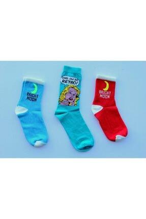 Adel Retro 3'lü Set Özel Kutusunda Çorap