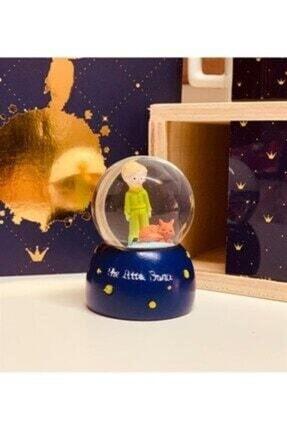 Akuamarin Mini Boy Küçük Prens Kar Küresi Işıklı