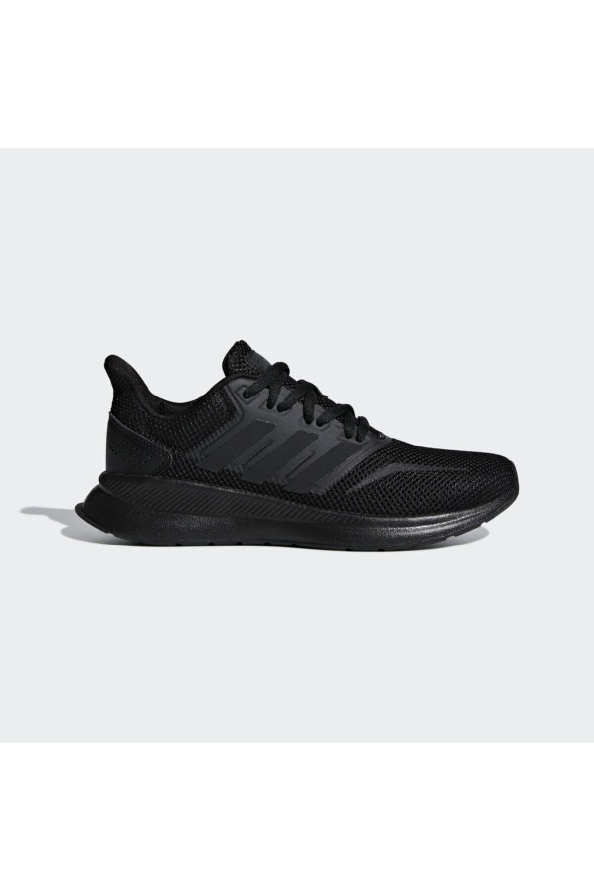 adidas Kadın Siyah Runfalcon K Spor Ayakkabı (f36549) 1
