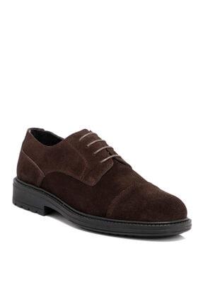 Tergan Kahverengi Süet Deri Erkek Ayakkabı 55016b85