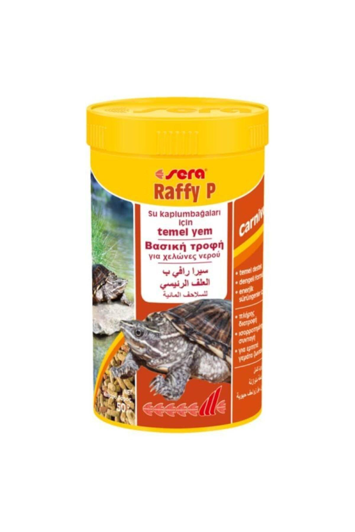 SERA Raffy P Kaplumbağa Yemi 250ml 50gr 1