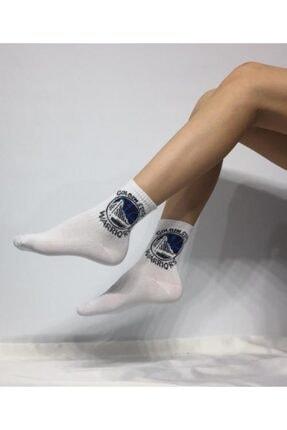 ADEL ÇORAP Kokulu Unisex Golden State Desenli Kolej Çorabı