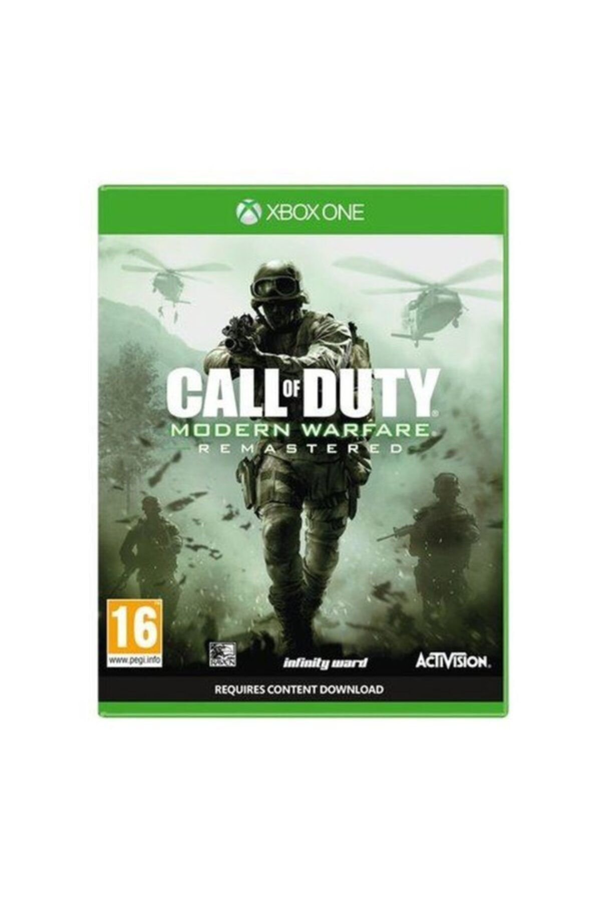 ACTIVISION Xbox One Call Of Duty Modern Warfare Remastered 1