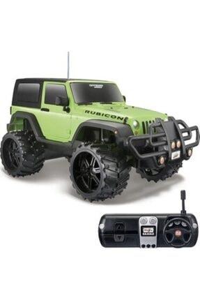 Maisto Yeşil Off-road Jeep 40 Mhz Uzaktan Kumandalı Oyuncak Araba