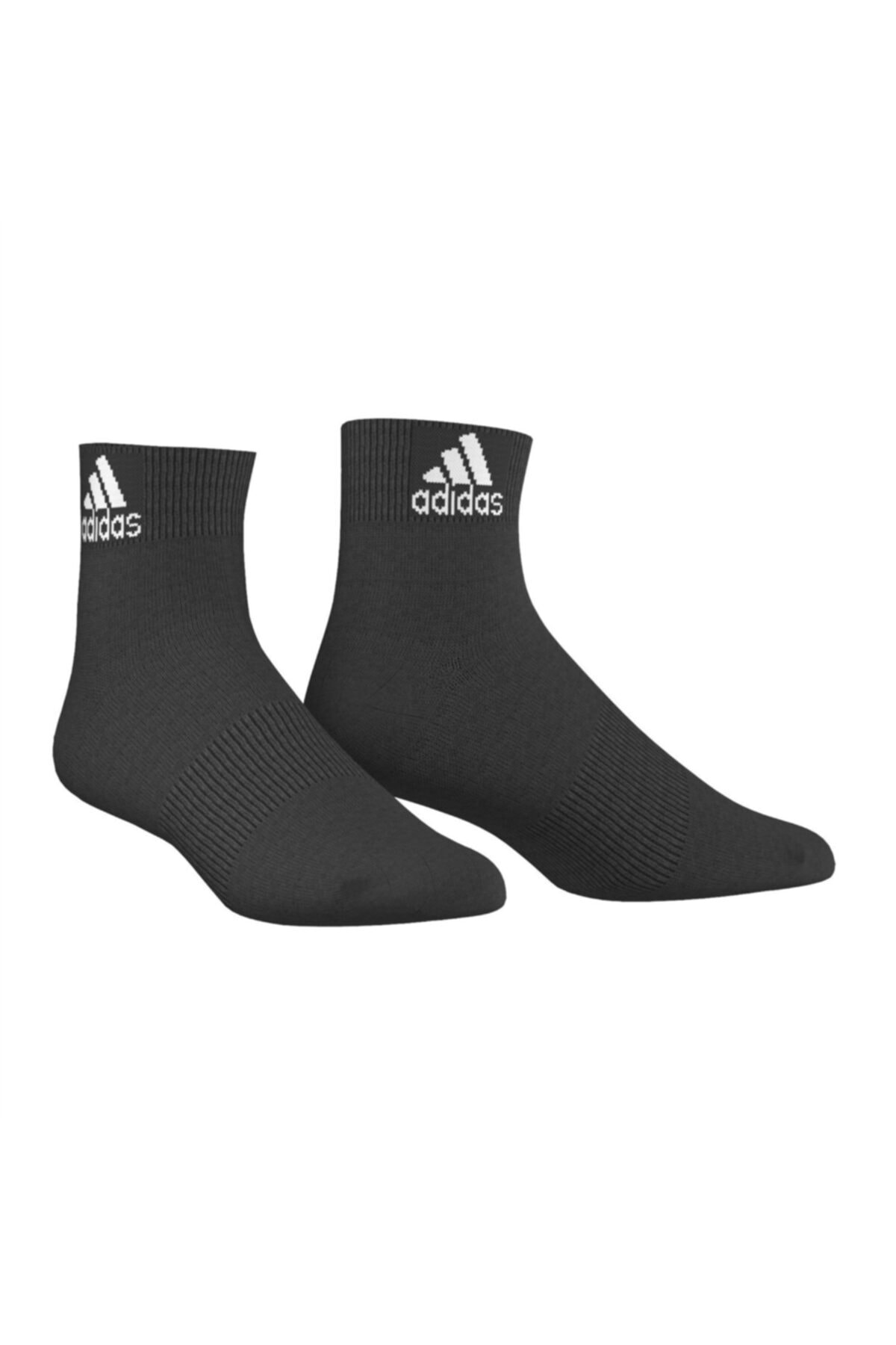 adidas Unisex Siyah Spor Kısa Çorap (aa2324) 1
