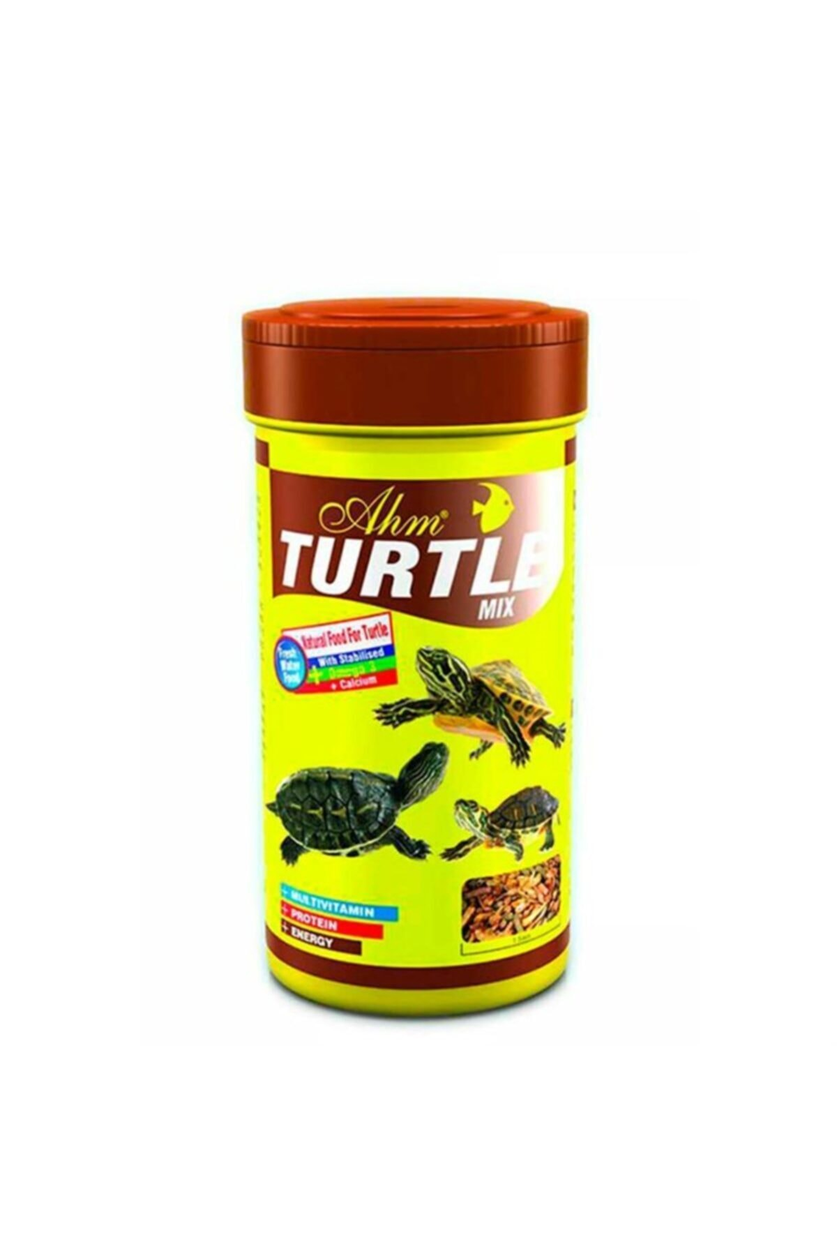 Ahm Turtle Mix 55 G 250 Ml 1