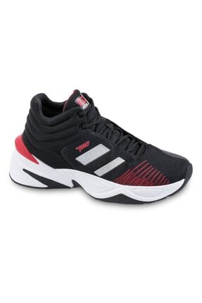 Jump 24774 Genç Çocuk Siyah Comfort System Basketbol Ayakkabı