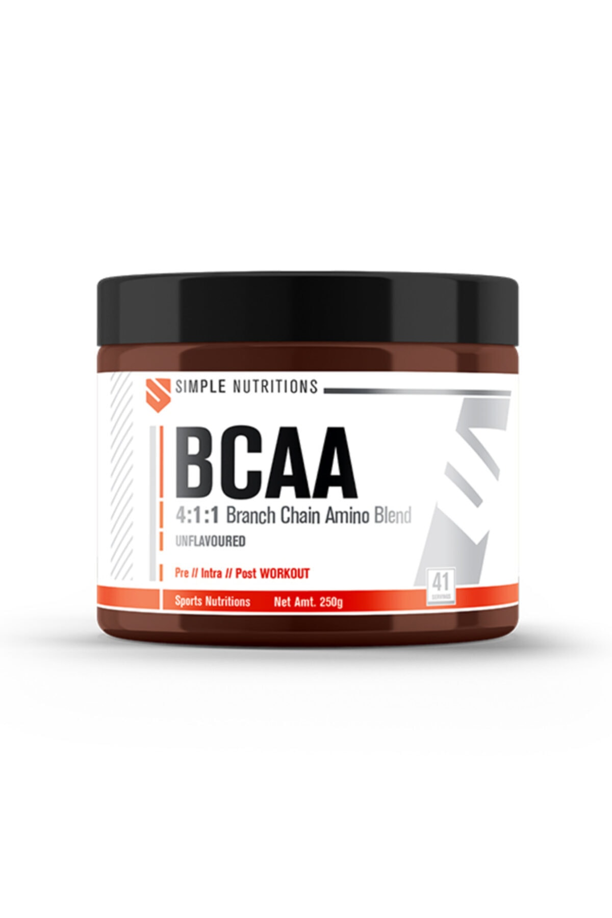 Simple Nutritions Bcaa 4:1:1 Unflavoured - 250 Gr 1