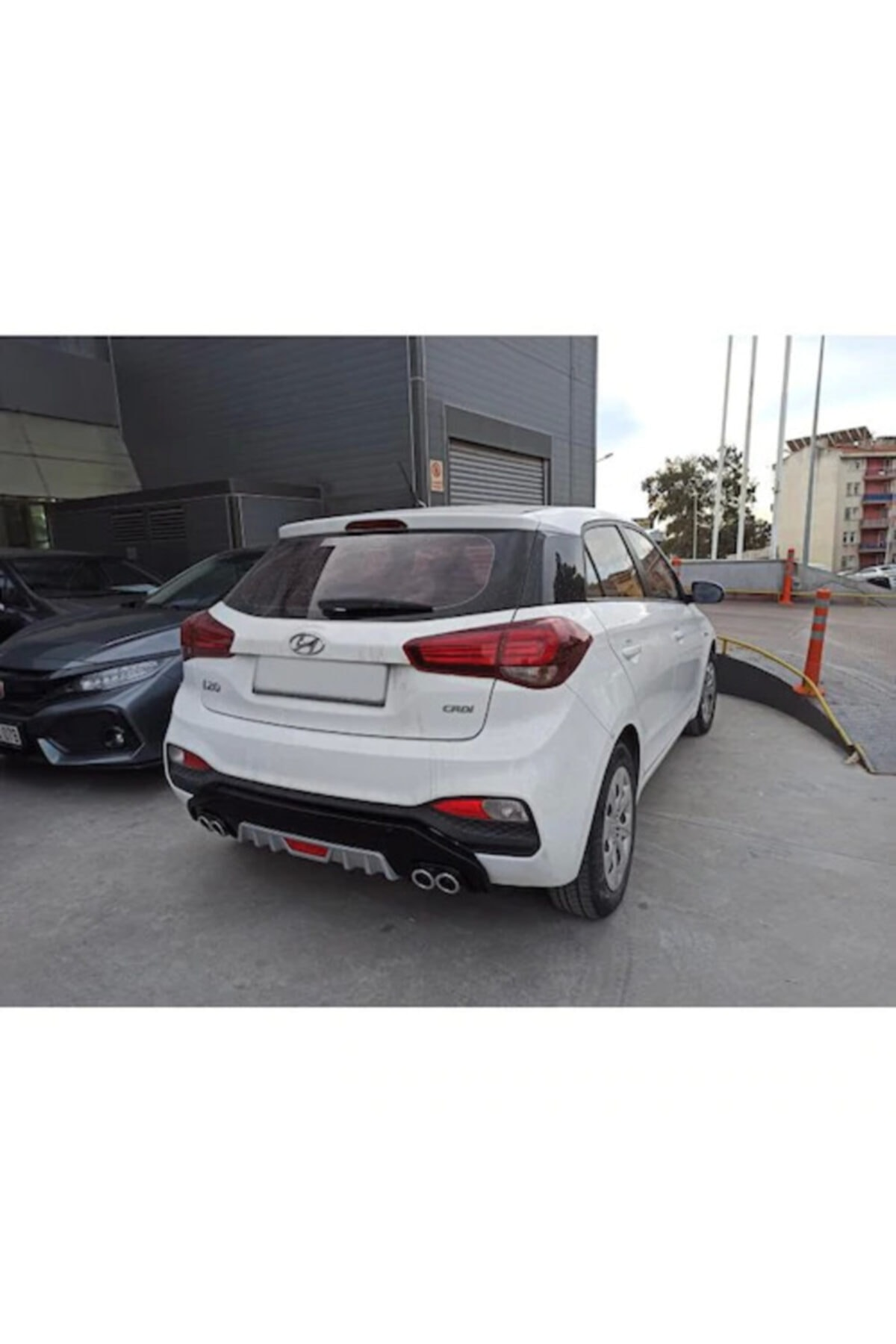 Dynamic Hyundai Yeni I20 4 Egzoz Difüzör 2019 ve Üzeri 1