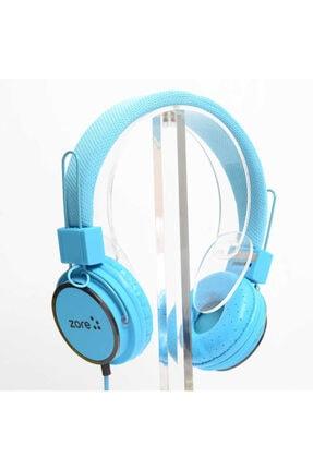 zore Mavi Kulaklık Y-6338 Mp3 3.5 mm