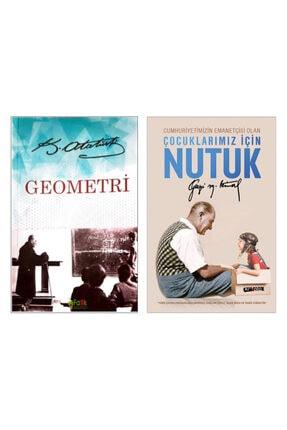 Fark Yayınları Çocuklar Için Nutuk - Atatürk'ün Kendi Yazdığı Geometri Kitabı - Mustafa Kemal Atatürk (ikili Set)