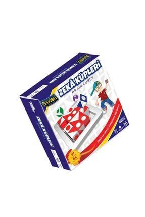 Bundera Q-bitz Moli Toys Zeka Küpleri Renkli Küpler, Sihirli Küpler Görsel Beceri Küpleri Akıl Ve Zeka Oyunu