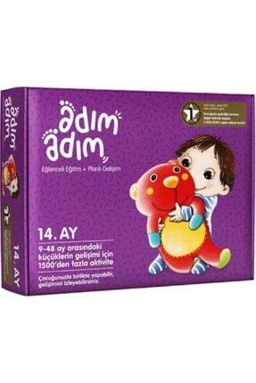 Adım Adım Bebek Eğitim Setleri Yayınları Adım Adım Bebek Eğitim Seti 14.ay