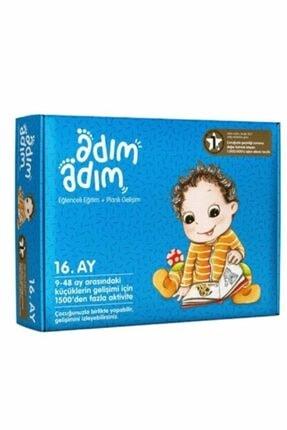 Adım Adım Yayınları Adım Adım Bebek Eğitim Seti 16.ay