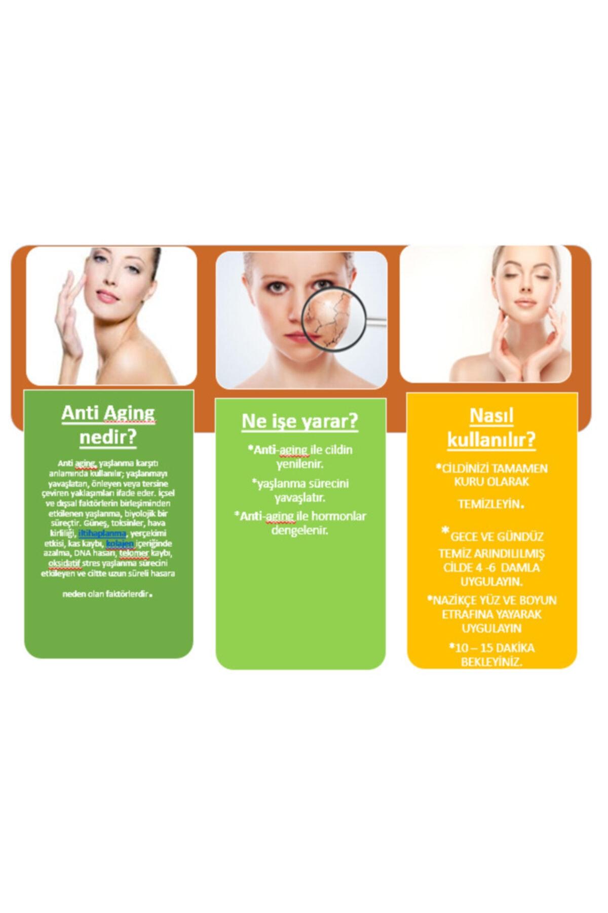 Pure 3'lü Serum -anti Aging-retinol-hyaluronic Asit Serum 2