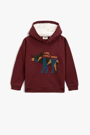Koton Kids Bordo Erkek Çocuk Sweatshirt