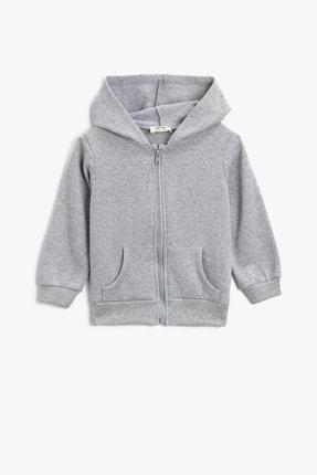Koton Kids Gri Kız Çocuk Sweatshirt
