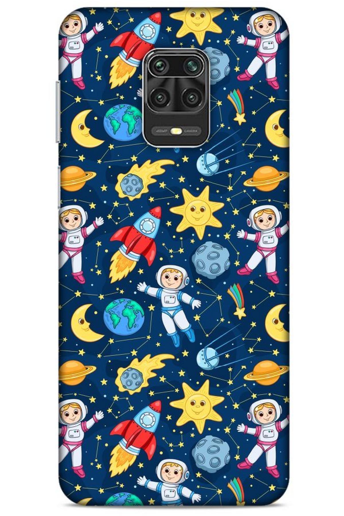 Lopard Spacex (7) Tema Telefon Kılıfı Xiaomi Redmi Note 9s Kılıf 1