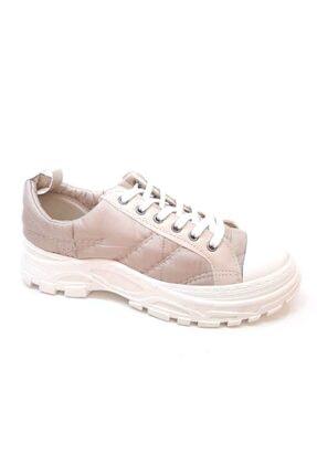 PUNTO 594088 Yeni Sezon Fashion Sneaker Pudra