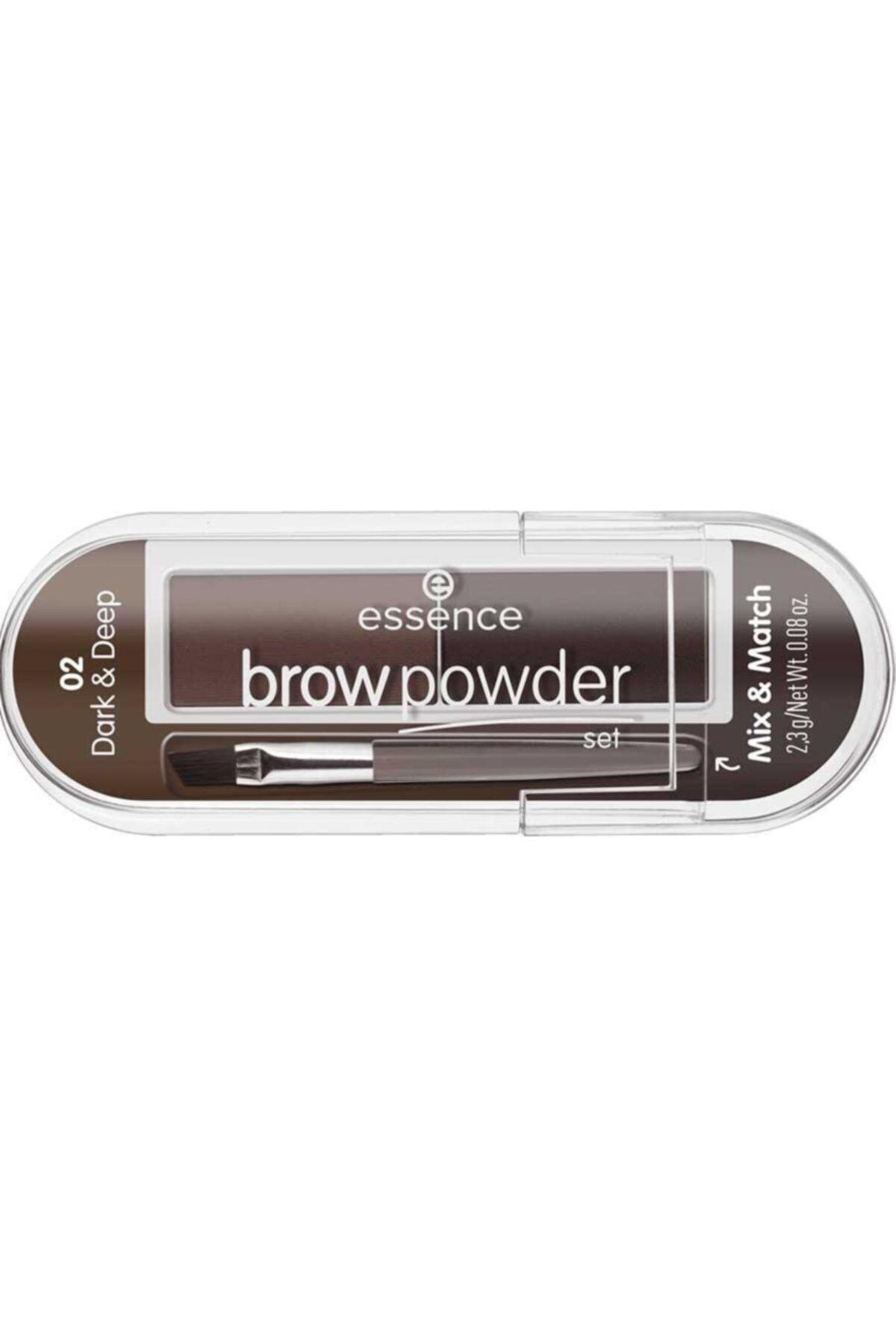Essence Brow Powder - Kaş Farı No: 01 Light/Medium  4059729271204 1