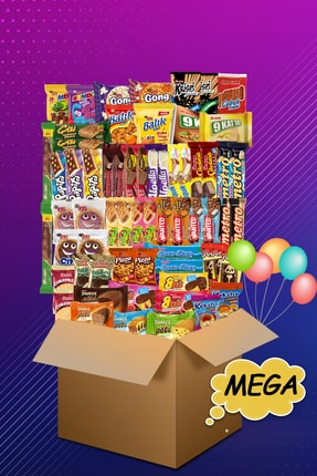Ülker Mega Tatlı Düşler Çikolata Paketi