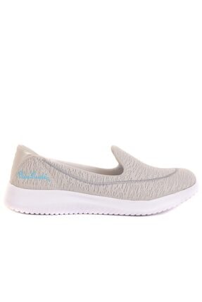 Pierre Cardin Kadın Gri Bağcıksız Casual Ayakkabı
