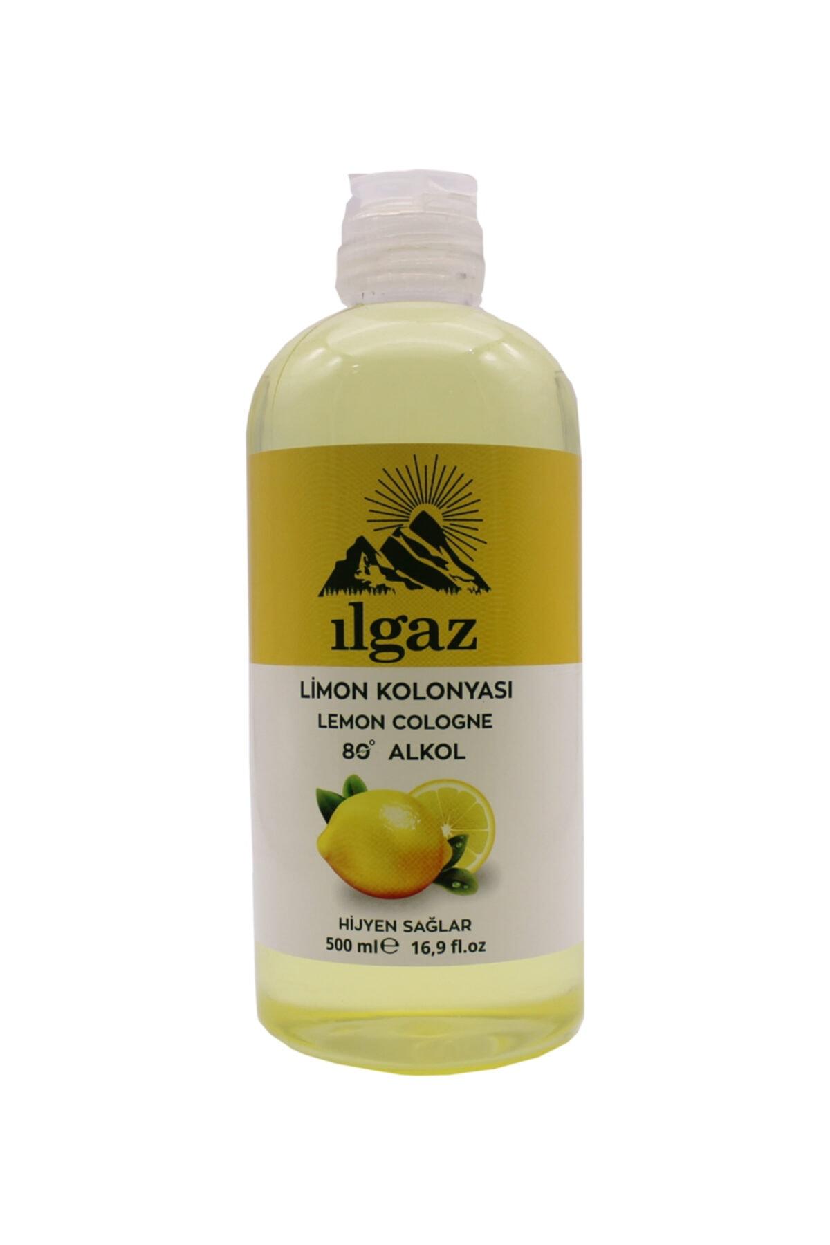 ILGAZ Limon Kolonyası 500 Ml 80 Derece Limon Kolonyası Eau De Cologne 1
