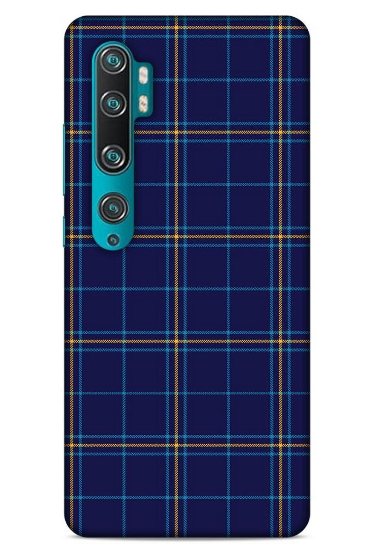 Lopard Gömlek (10) Desenli Silikon Kapak Telefon Kabı Xiaomi Mi Note 10 Pro Kılıf 1
