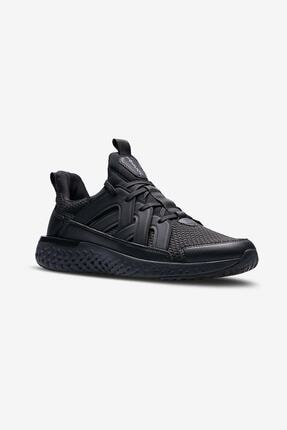 Lescon Erkek Siyah Hellium Spike Sneaker Spor Ayakkabı Rahat