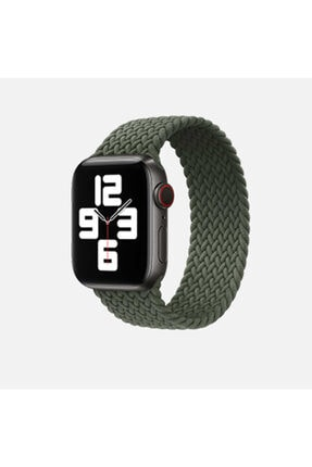zore Apple Watch 38 Mm - 40mm Hasır Silikon Kordon