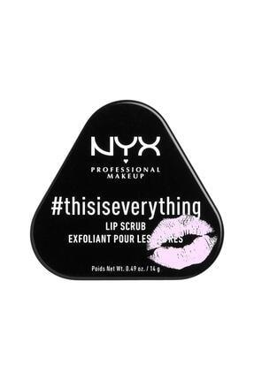 NYX Professional Makeup #thısıseverythıng Lıp Scrub -