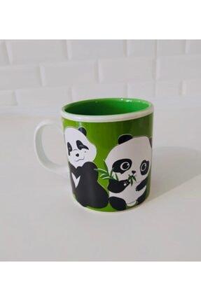 Keramika 10 Cm Çift Renk Kupa Yeşil