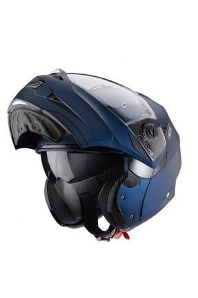 Caberg Duke 2 Yama Blue Mat Mavi Açılır Motosiklet Kaskı+ Pinlock