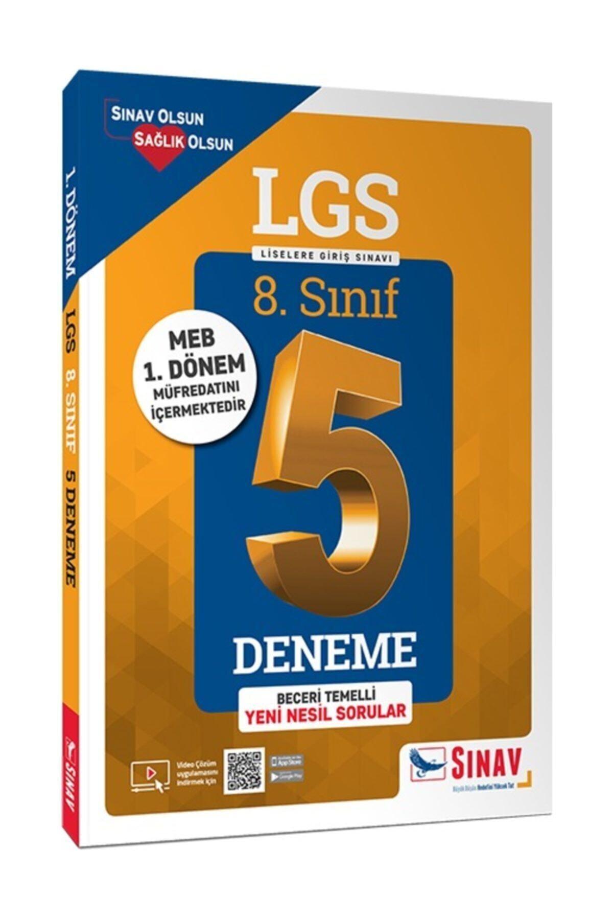 Sınav Yayınları 8.sınıf 1. Dönem Lgs Çözümlü 5 Deneme 1