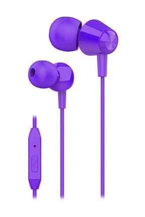 S-LINK Sl-ku160 Mobil Telefon Uyumlu Mor Kulak Içi Mikrofonlu Kulaklık