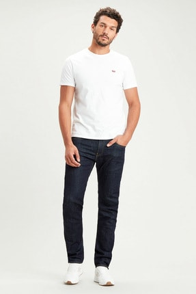 Levi's Erkek Gri  Straight Taper Jeans 29507-0616