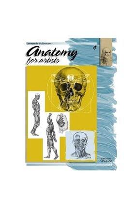 Da Vinci Leonardo Collection Desen Kitabı Anatomy For Artist N: 4 Ressamlar Için Anatomi N: 4