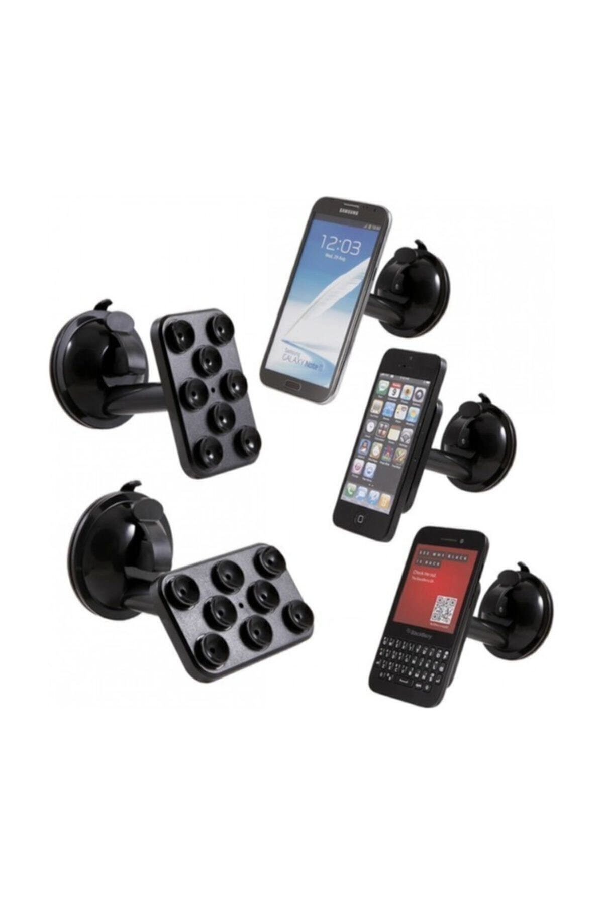 SMARTBLUE 8 Vantuzlu Telefon Tutacağı 1