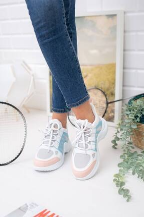 McDark Kadın Pudra Mavi Spor Ayakkabı