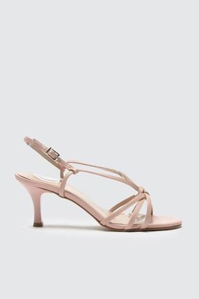 TRENDYOLMİLLA Pudra Bantlı Kadın Klasik Topuklu Ayakkabı TAKSS21TO0009
