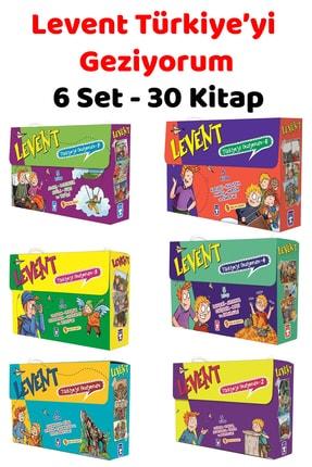 Timaş Yayınları Levent Türkiye'yi Geziyorum 1 - 2 - 3 - 4 - 5 - 6 (toplam 6 Set - 30 Kitap) Bütün Kitaplar