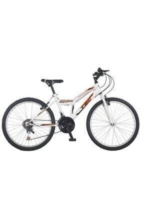 TEC Strong 21 Vites 24 Jant Beyaz Turuncu Bisiklet