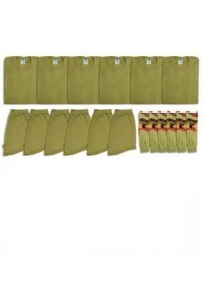 özmertaskerimalzeme Acemi Ve Bedelli Askerlik 6'lı Iç Çamaşır Seti Askerlik Paketi Herşey Dahil