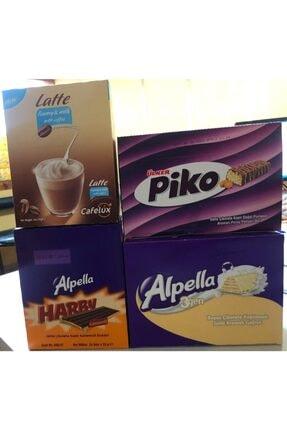 Ülker Atıştırmalık Içecek Paketi Alpella Harby Alpella 3gen Ve Piko Latte